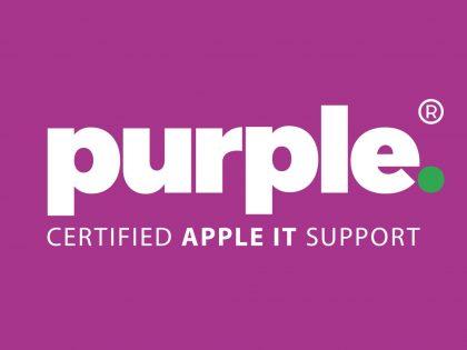 Purple | Certified Apple IT Support Logo