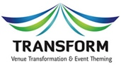 Logo of Transform Venue Limited event thumbing and venue transformation service and client of Purple | Certified Apple IT Support