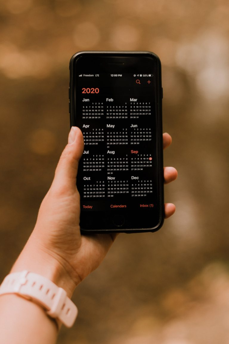 iPhone calendar not syncing